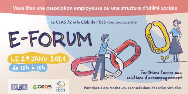 29 janvier : eForum Conseil pour les associations employeuses