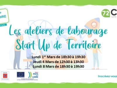 Start-up de territoire Le Mans Sarthe – Participez aux animations !