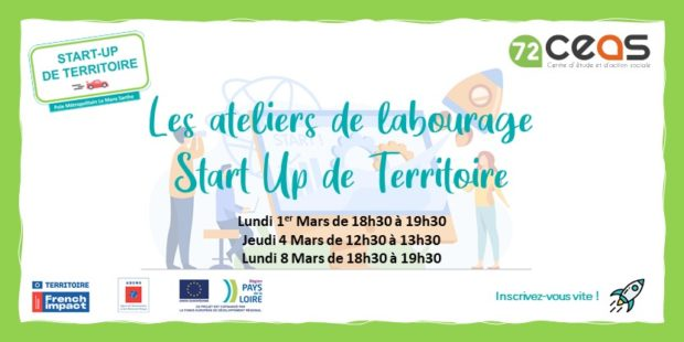 Start-up de territoire Le Mans Sarthe – Participez aux animations !